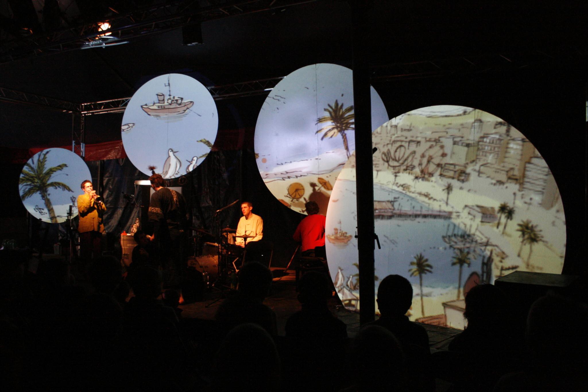 Antonioni Antonini - Bühne